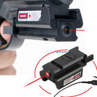 High Quality Red Dot Laser Adjustable Compact Sight Fit Rail 20mm + With Switch