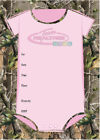 Camo Baby Shower Invitations  White Pink OR Green Realtree AP All Purpose