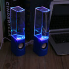 LED Dancing Water Music Fountain Speakers For Mobile Smart Phone Computer PC