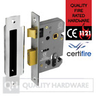 "Euro Cylinder Sash Lock case only 64/76mm (2.5/3"") Satin Stainless Steel"