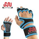 Fitness Gloves Weight Lifting Gym Workout Training Wrist Wrap Strap Men - Women