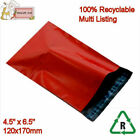 RED Mailing Bags Poly Postal Packing 4.5