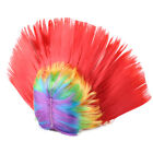 Unisex Mohawk Hair Wig Mohican Punk Rock Fit For Cosplay Costume Halloween Party