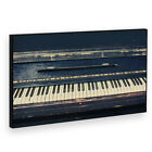 BF2AB1588P Black Vintage Piano Modern Abstract Framed Wall Art Picture Prints