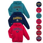 NHL Primary Team Logo Pullover Hoodie Fleece Collection Boys Youth (4-18) XS-2XL <br/> Available in Various Teams, Styles, Colors and Sizes!