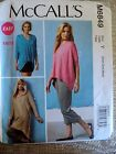 McCall's M6849 Sewing Pattern Misses' Tops, Tunic, Shorts and Pants New UNCUT