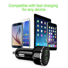 Car Phone Charger Dual Usb Qc 3.0 Fast Charge Car Charger Halo Car Charger