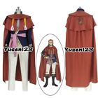 Black Clover Fuegoreon Vermilion Cosplay Costume Comic Con Halloween Male Outfit