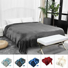 Plush Fleece Blanket Soft Warm Throw Blanket Sofa Bed Home Throw Twin Queen King image
