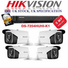 Hikvision Bullet Camera 5MP Night Vision Ultra HD 4K Outdoor DVR Home Security