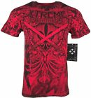 XTREME COUTURE by AFFLICTION Men T-Shirt IMPERIAL GROUND Biker MMA Gym M-4X $40 image
