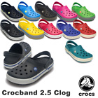 Crocs Adults Crocband II.5 Clog Comfortable Easy to Clean Quick to Dry