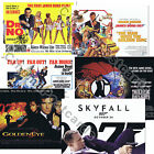 007 James Bond OFFICIAL 50 Years 50th Anniversary 2012 Quad Art Prints UK issue $12.16 AUD on eBay