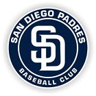 San Diego Padres Round Decal / Sticker Die cut