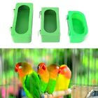 Plastic Food Water Bowl Cups Parrot Bird Pigeons Cage Cup Feeder Feeding S M L