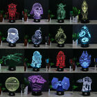 Star Wars Death Star 3D LED Night Light Touch Table Desk Lamp Xmas Gift 7 Color $17.98 USD on eBay