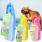 Portable Pet Dog Cat Outdoor Travel Water Bowl Bottle Feed Drink Fountain $2.99