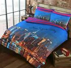 New York City (NYC) USA Blue Duvet Covers Quilt Covers Bedding Sets All Sizes