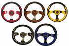 GTW Rally Golf Cart Steering Wheel and Adapter - Choose from 5 Colors