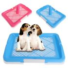 Pet Tray Hygienic WC Training Toilet Dogs Puppy Cats Grooming With Pillar Clean