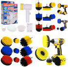3/4Pc/Set Tile Grout Power Scrubber Cleaning Drill Brush Tub Cleaner Combo Scrub