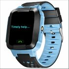 Children Smart Phone Watch GPS Tracker Anti-lost Waterproof For iOS Android US