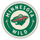 Minnesota Wild NHL Hockey Logo Car Bumper Sticker Decal - 3'' or 5'' $3.5 USD on eBay