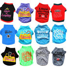 Pet Dog Clothes T-Shirt Girl Puppy Pajamas Boy Costume Apparel yorkie Schnauzer