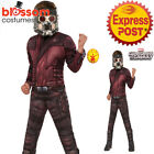 CK1210 Deluxe Starlord Muscle Guardian Of Galaxy Marvel Book Week Boys Costume