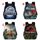 Jurassic World Cartoon Backpack Kids Schoolbag Mochila Travel Laptop Bags