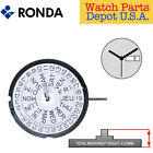 Harley Ronda 517 Quartz Watch Movement, 3 Hands, Day/Date 3 (Swiss Parts)  image