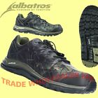 Albatros Energy  Impulse Camoflage Oive/Black Lightweight Safety Trainer Shoes
