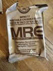 MILITARY MRE NEW INDIVUAL 2019 INSPECTION MEALS READY TO EAT