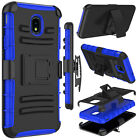 For Samsung Galaxy J7 2018/Refine/Crown/Star Case Holster Stand Belt Armor Cover