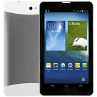 7'' Android Tablet PC Unlocked 3G Dual Sim Phablet 8GB HD Touchscreen 2xCamera