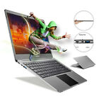 Ultrathin 14.1'' Windows 10 Notebook Intel Quad Core N3450 4G+64G eMMC Laptop