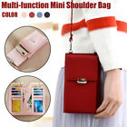 New Womens Phone Shoulder Bag PU Leather Money Mini Coin Cell Messenger Bag