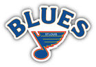 St Louis Blues NHL Hockey Logo Car Bumper Sticker Decal -  9'', 12'' or 14'' $11.99 USD on eBay