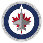 Winnipeg Jets NHL Hockey Round  Car Bumper Sticker Decal - 9'', 12'' or 14'' $13.99 USD on eBay