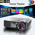 Full HD 1080P 5000 Lumens Projector LED LCD VGA HDMI  AV USB Theater Cinema LOT