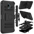 For Samsung Galaxy J3 V 2018/Achieve/Star/Orbit Case Holster Belt Clip Kickstand