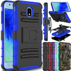 For Samsung Galaxy J3 V 2018/Achieve/Star/Amp/Express Prime 3 Holster Phone Case