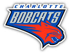 Charlotte Bobcats NBA Basketball  Car Bumper Sticker - 3'', 5'', 6'' or 8'' on eBay