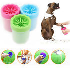 Portable Pet Dog Paw Cleaner Washing Cleaning Brush Cup Foot Cleaner Silicone