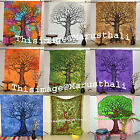 Indian Mandala Tree of Life Tapestry Handmade Jaipur Print Yoga Mat Garden Mat