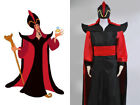 Aladdin The Return of Jafar Cosplay Costume Wizard Outfit Cloak Cape Hat
