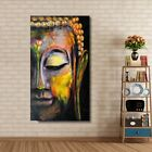 Oil paint Buddha canvas Art Painting Home and office Wall Unframed freeship