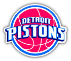 Detroit Pistons NBA Basketball  Car Bumper Sticker Decal - 3'', 5'' or 6'' on eBay