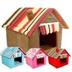 Washable Foldable Soft Warm Cushion Pet Dog Cat Bed Kennel Mat House Pad Sale