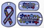Autism Awareness Vinyl Dog Tag - 3 Sizes - Great for Necklaces and Bracelets